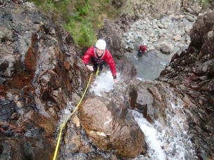 20150613 P6130344 304x228 Gorge scrambling in Stickle Ghyll, Langdale